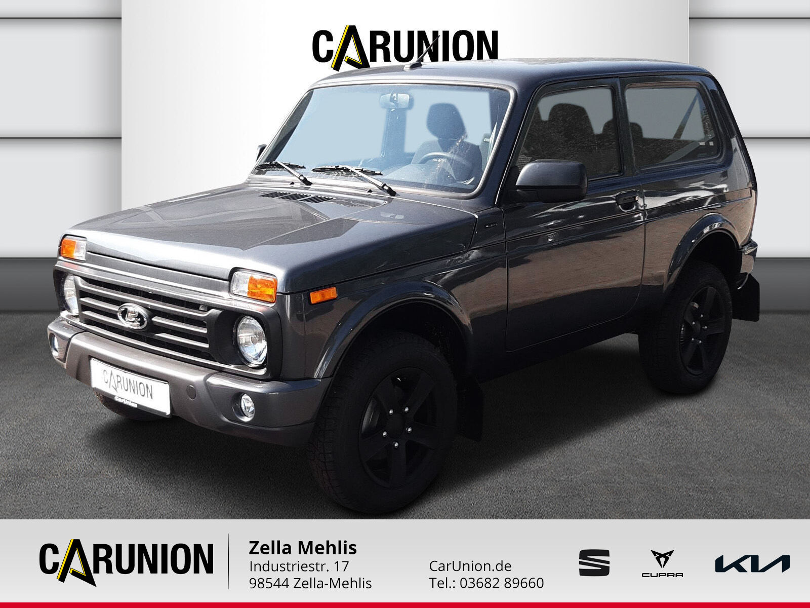 Lada Niva Black Edition URBAN *KLIMA*ALU*SITZHEIZUNG*, Jahr 2021, Benzin