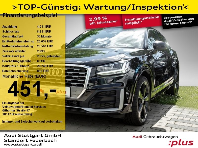Audi Q2 Sport 1.6 TDI S line ACC Pano Navi LED B&O, Jahr 2017, Diesel