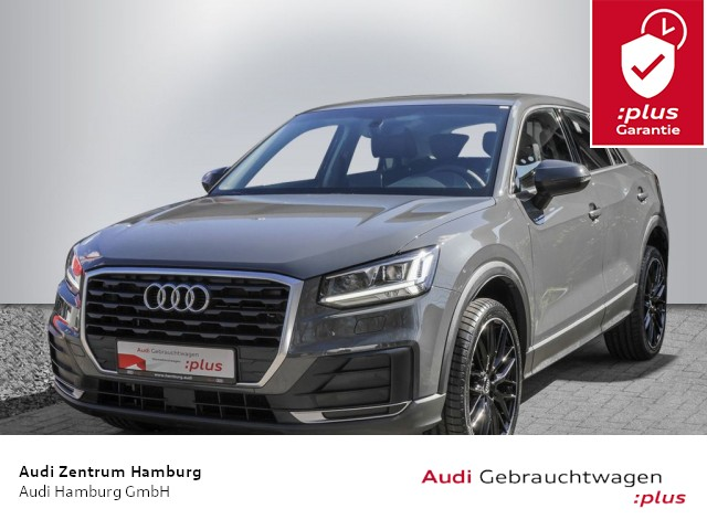 "Audi Q2 35 TFSI S tronic LEDER LED ALU 19"", Jahr 2019, petrol"