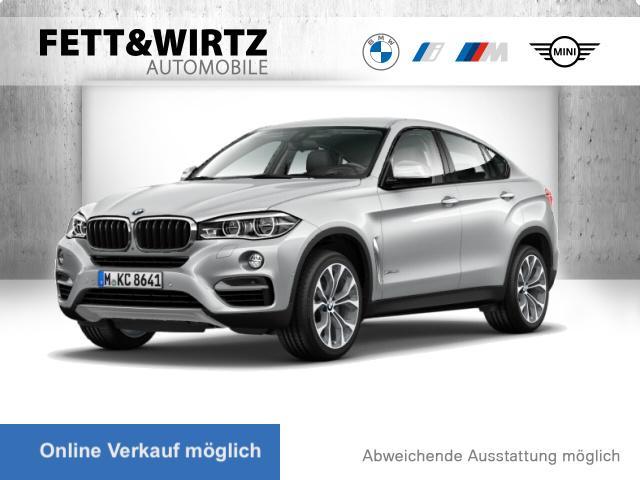 BMW X6 xDrive30d AHK HUD LED TV H/K DAB 20'', Jahr 2017, Diesel