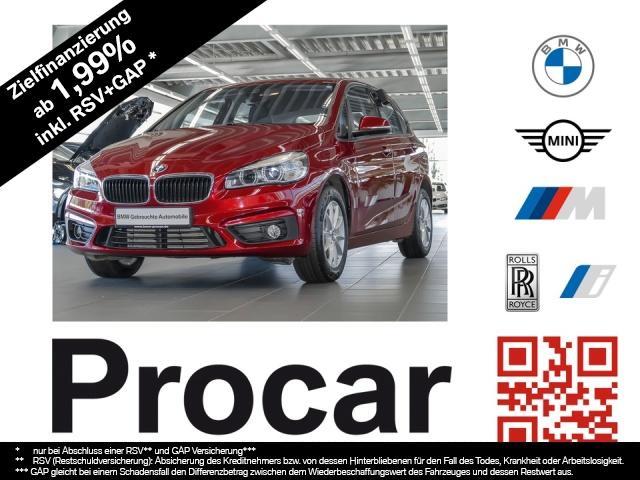 BMW 220 Active Tourer Advantage Aut. RFK Klimaaut., Jahr 2017, Benzin