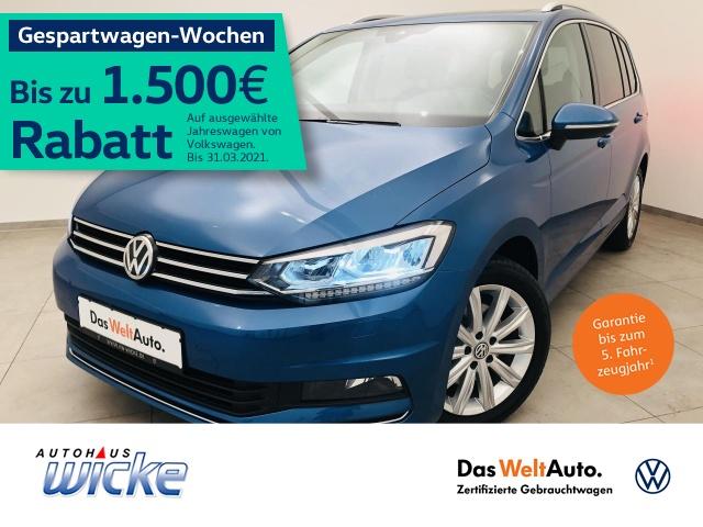 Volkswagen Touran 1.5 TSI Highline ACC LED Navi 7.Sitzer, Jahr 2019, Benzin