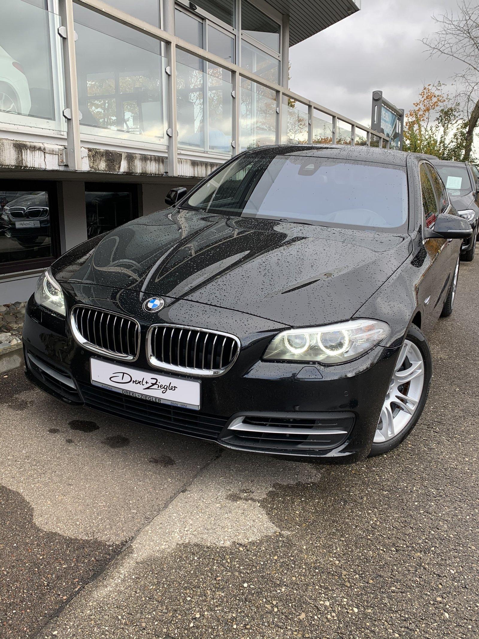 BMW 530d xDrive Limousine Xenon Navi HUD HiFi Kamera, Jahr 2015, Diesel