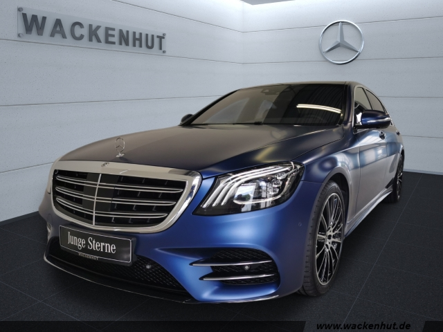 Mercedes-Benz S 400 d 4M LANG AMG +DISTR+MULTIB+360+FIRSTCLASS, Jahr 2019, Diesel