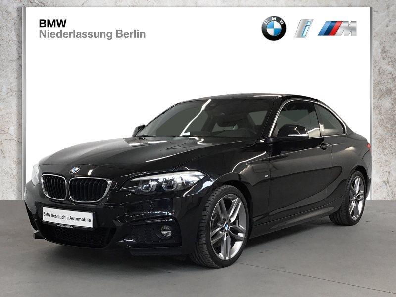 BMW 230i Coupé EU6 Aut. M Sport LED NaviProf. Alarm, Jahr 2017, Benzin