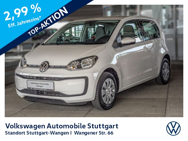 Volkswagen up! Move up 1.0 Bluetooth Klima Radio, Jahr 2017, Benzin