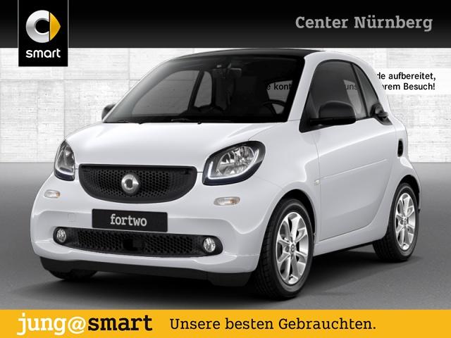 smart fortwo coupé 52kW passion cool&Media SHZ Pano LED, Jahr 2018, Benzin