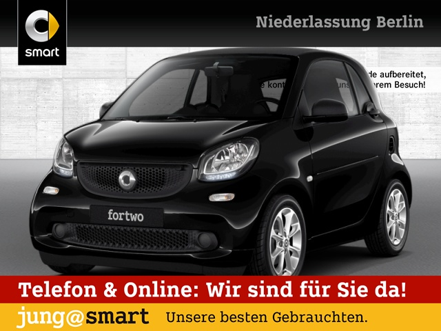 smart fortwo coupé 52kW passion cool&Media Komfort, Jahr 2018, Benzin