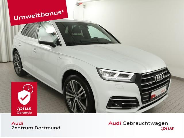 Audi Q5 55TFSIe qu. S line/ACC/Tour/Umweltbonus/VC, Jahr 2020, Hybrid