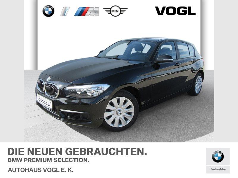 BMW 116i 5-Türer SHZ, Regensens., autom. Fahrlichtsteuerung, Jahr 2017, Benzin