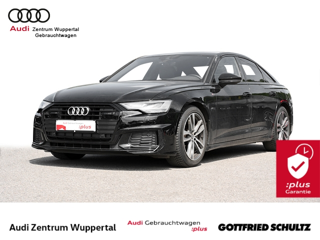 Audi A6 Lim. 40TDI 2X S-LINE ACC LEDER LED CONNECT SHZ VO HI GRA FSE 19ZOLL Sport, Jahr 2019, Diesel