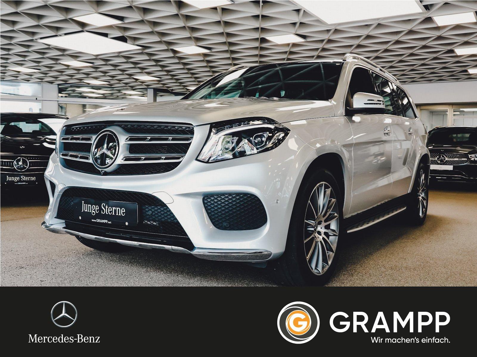 Mercedes-Benz GLS 500 AMG 4M ACS/B+O/Standh./HUD/AHK/7-Sitzer, Jahr 2017, Benzin
