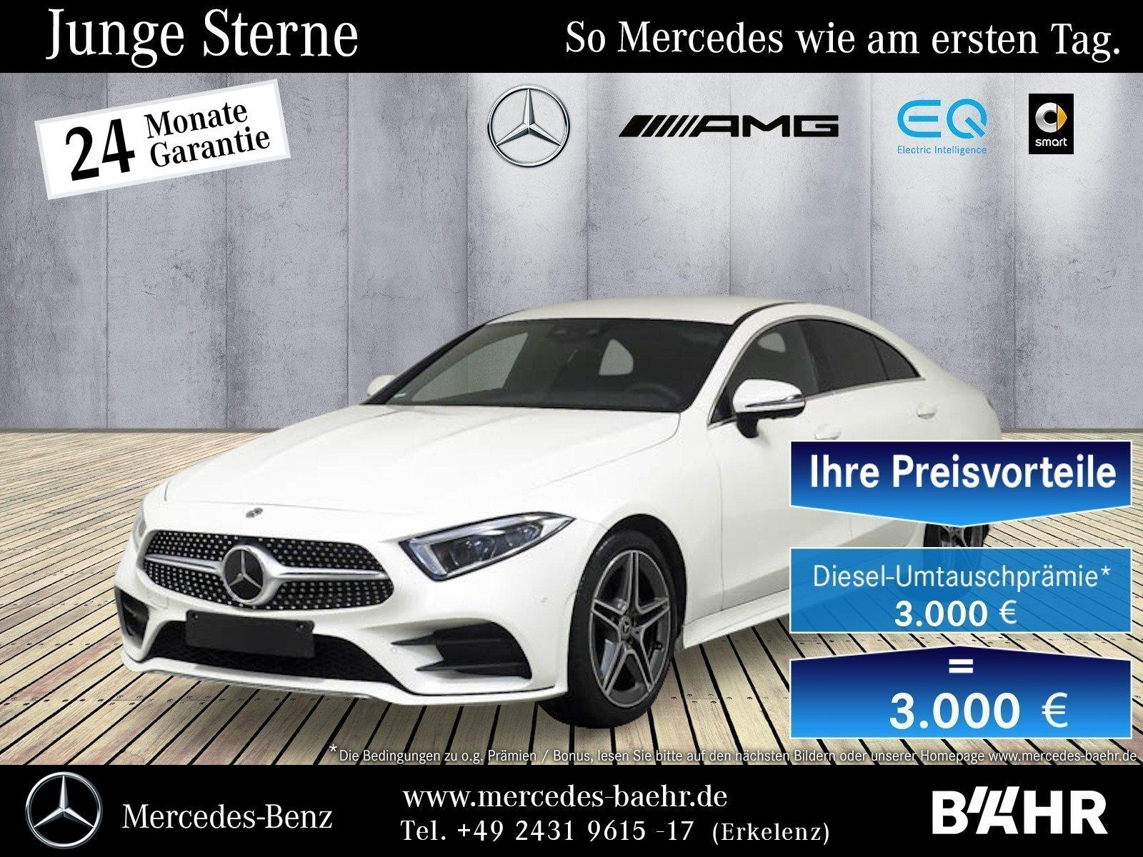 Mercedes-Benz CLS 220 d AMG/Comand/Multibeam-LED/360/Distronic, Jahr 2019, Diesel