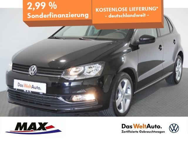 Volkswagen Polo 1.2 TSI HIGHLINE SITZHZG+TEMPOMAT+PDC+KLIMA, Jahr 2017, Benzin