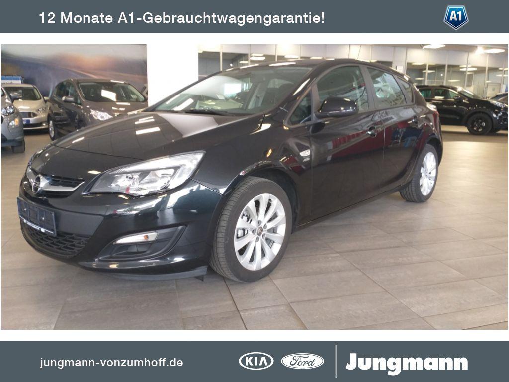 Opel Astra 1.4 Turbo Selection, Jahr 2013, Benzin