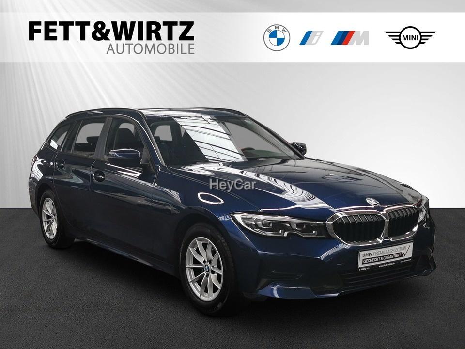 BMW 318d Touring Adv. LED Leas. ab 335,- br.o.Anz., Jahr 2020, Diesel