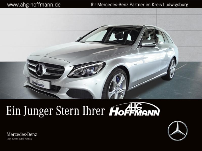 Mercedes-Benz C 350 e T Avantgarde+LED+Navi+Airm.+AHK+PDC+SHZ, Jahr 2016, Hybrid