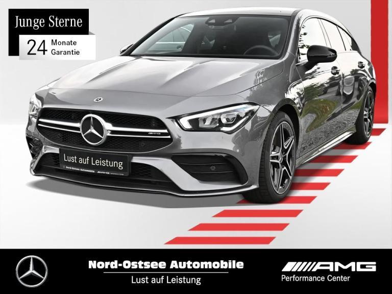 Mercedes-Benz AMG CLA 35 4M SB Night LED Kamera MBUX Navi SHZ, Jahr 2020, Benzin