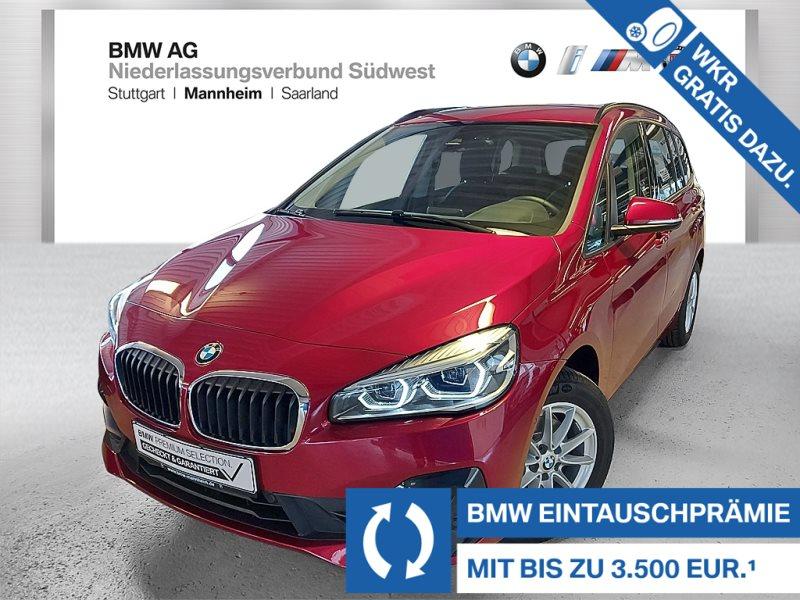 BMW 216 Gran Tourer i Advantage LED Tempomat Shz PDC, Jahr 2019, Benzin