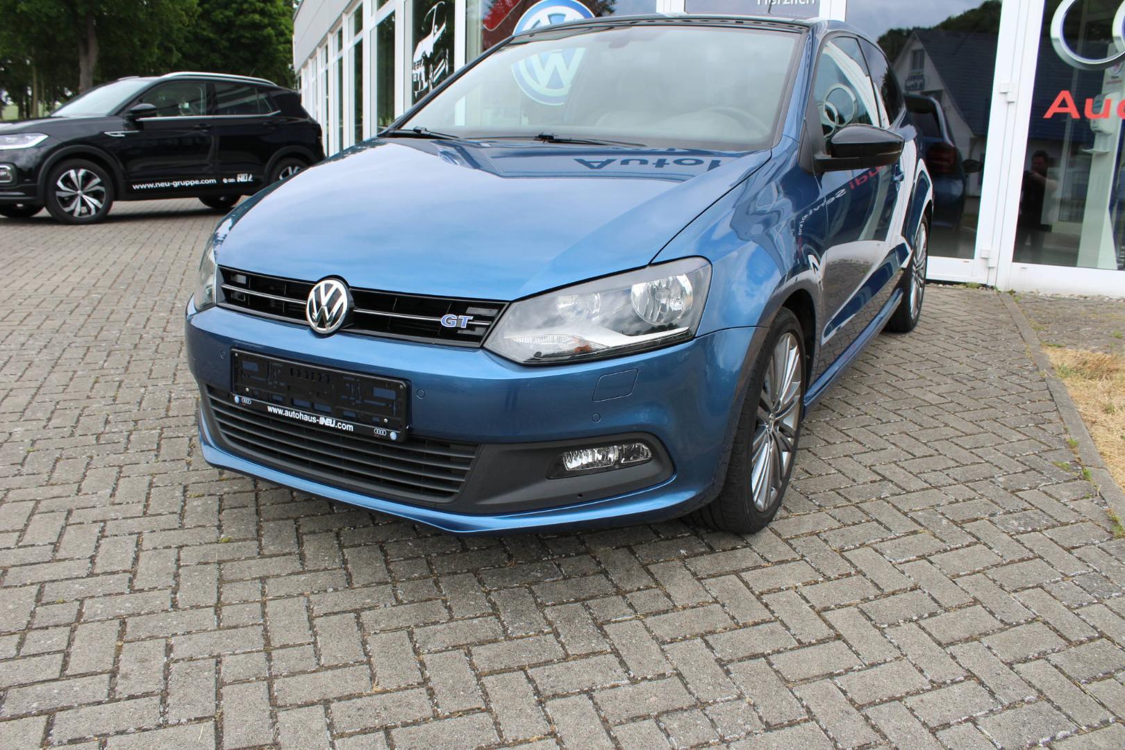 "Volkswagen Polo BlueGT 1.4 TSI (ACT) 17""LM PDC Klima Panora, Jahr 2016, petrol"
