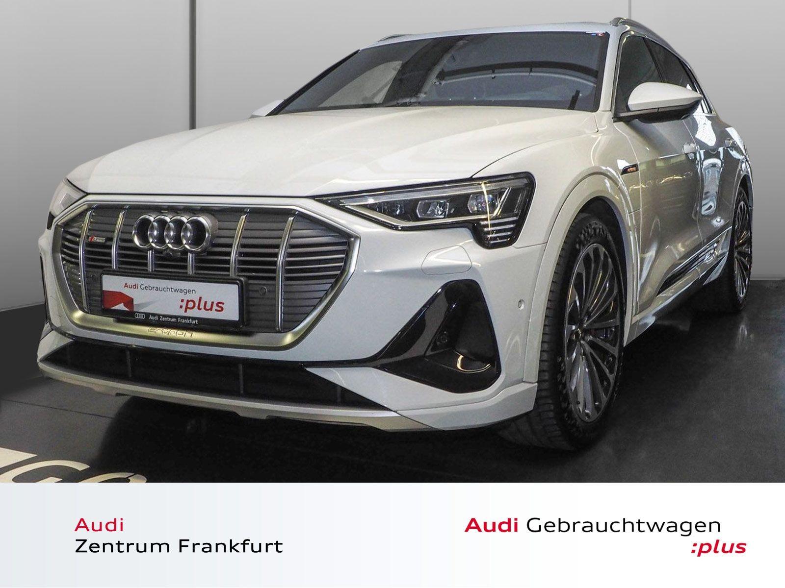 Audi e-tron 55 quattro S line Matrix-LED Navi HuD Panorama, Jahr 2019, Elektro