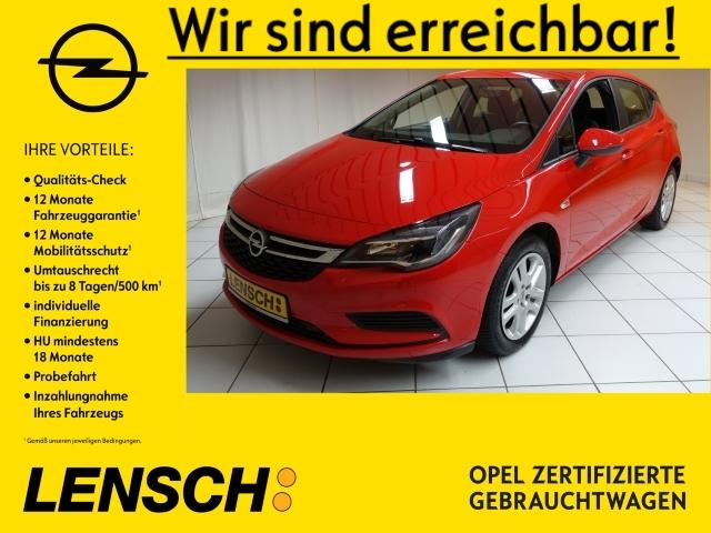 Opel Astra K 1.4 5T Edition NAVI+SITZHZ+PDC+ALLWETTER, Jahr 2018, Benzin