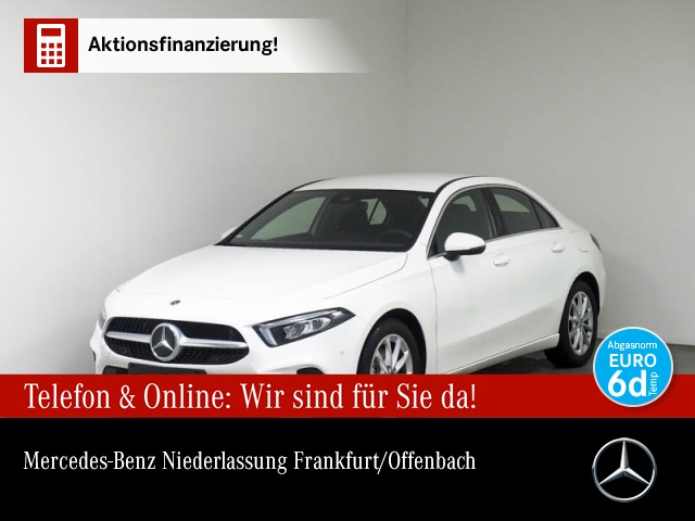 Mercedes-Benz A 200 Limo Progressive LED Premium Business SHZ, Jahr 2019, Benzin