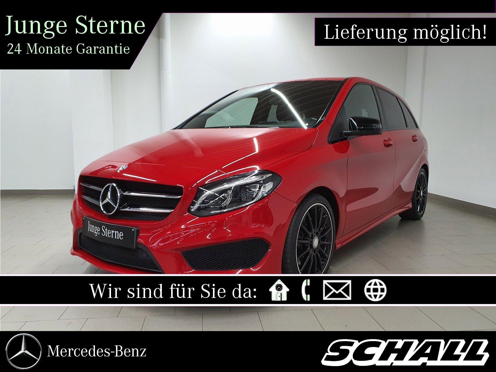 Mercedes-Benz B 220 CDI AMG+NIGHT+AHK+LED+COMAND+KAMERA+TOTWI, Jahr 2014, Diesel