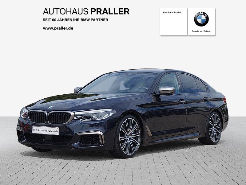 BMW M550i xDrive Lim Autom Bowers Wilkins Sound Massage, Jahr 2017, Benzin