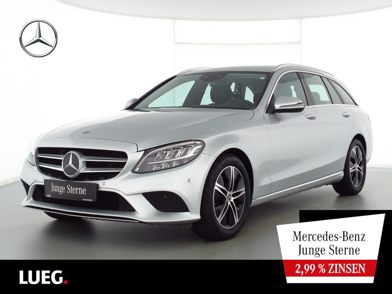 Mercedes-Benz C 220 d T Avantgarde+Navi+LED-HP+SpurPkt+AHK+RFK, Jahr 2020, Diesel