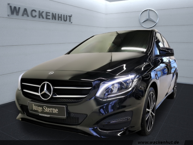 Mercedes-Benz B 250 URBAN EDITION NIGHT+AHK+TOTW+LED+NAVI+KAMERA, Jahr 2017, Benzin