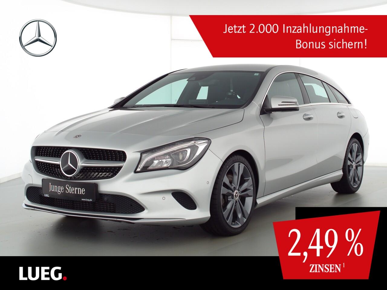 Mercedes-Benz CLA 250 4M SB Urban+COM+LED-HP+Sthzg+Distr+HarmK, Jahr 2018, Benzin