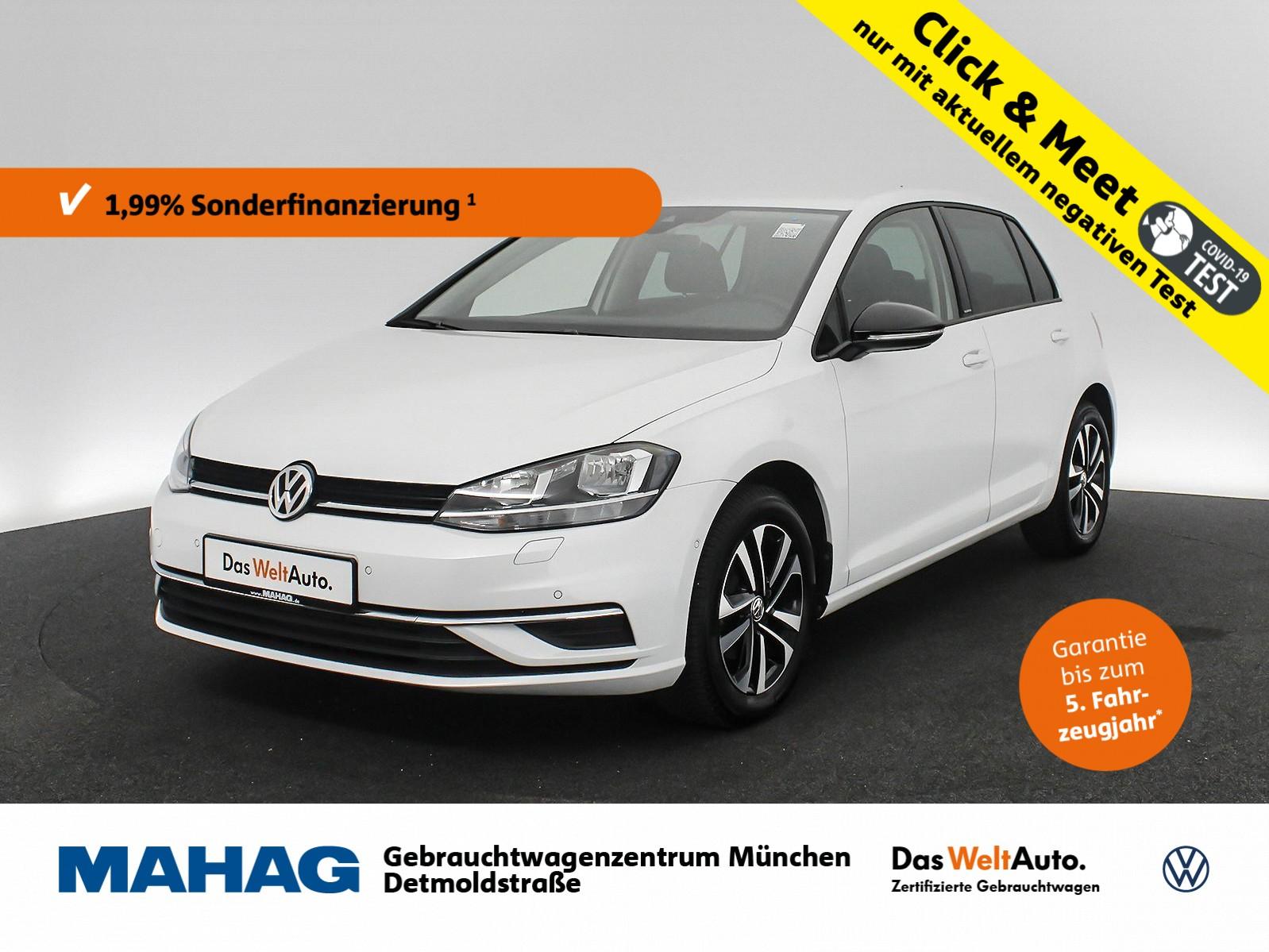Volkswagen Golf VII 1.0 TSI IQ.DRIVE Navi ParkLenkAssist Bluetooth LightAssist 16Zoll 6-Gang, Jahr 2019, Benzin