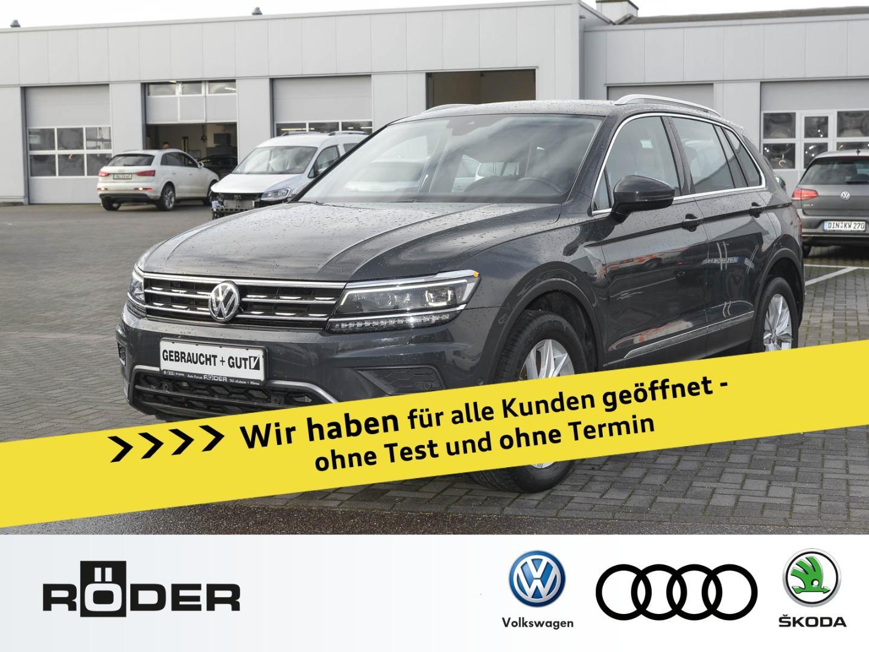 Volkswagen Tiguan Highline 2.0 TDI 4 Motion DSG Leder AHK N, Jahr 2016, Diesel