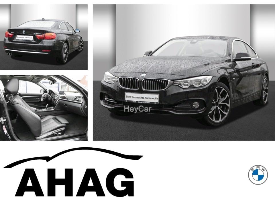 BMW 435d xDrive Coupe Luxury Line Automatik Aut. PDC, Jahr 2015, Diesel