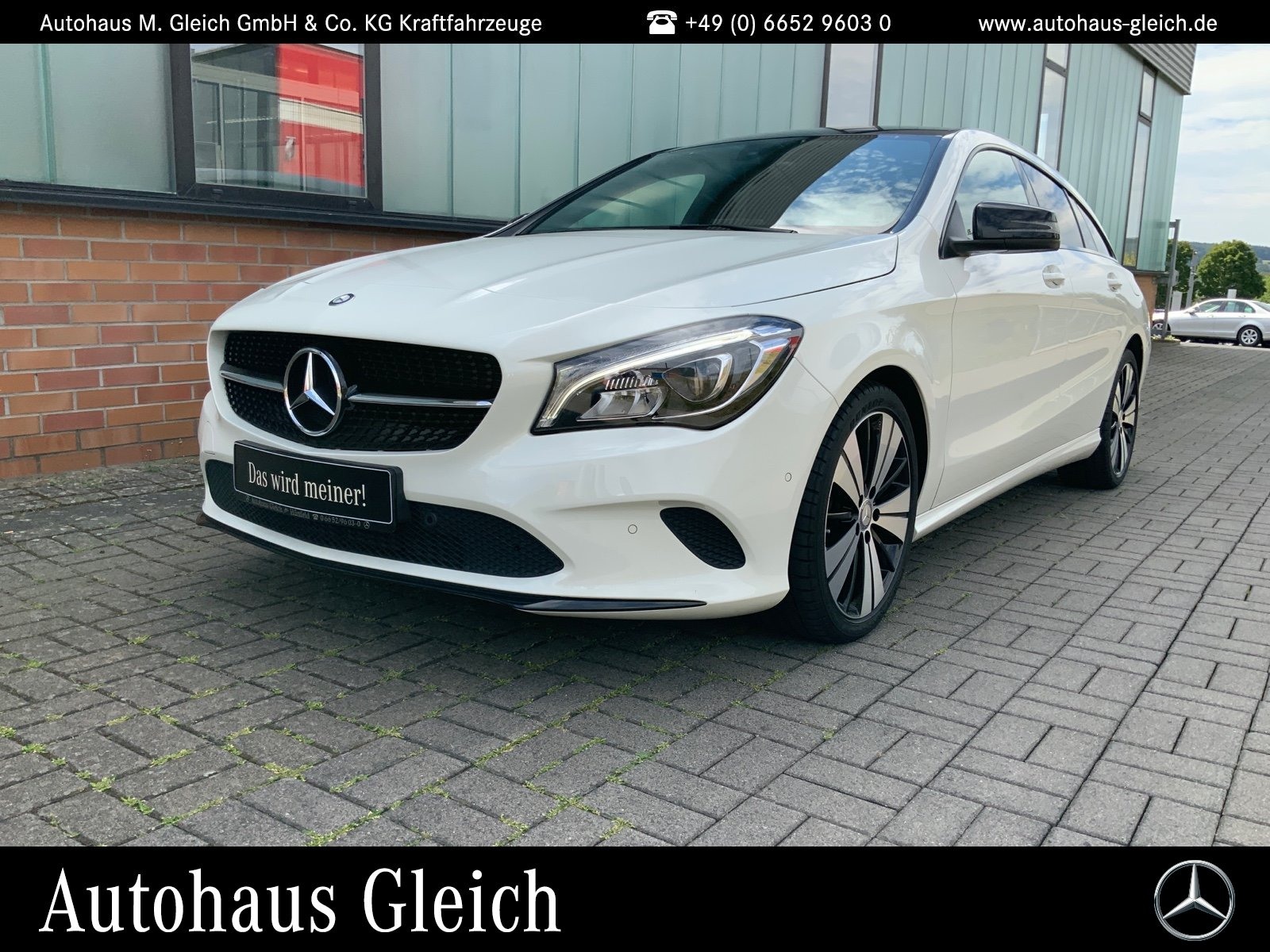 Mercedes-Benz CLA 180 Shooting Brake Urban/Navi/Pano.-Dach/LED, Jahr 2016, Benzin
