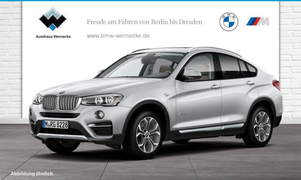 BMW X4 xDrive30d xLine LED GSD Navi Prof. Tempomat, Jahr 2015, Diesel