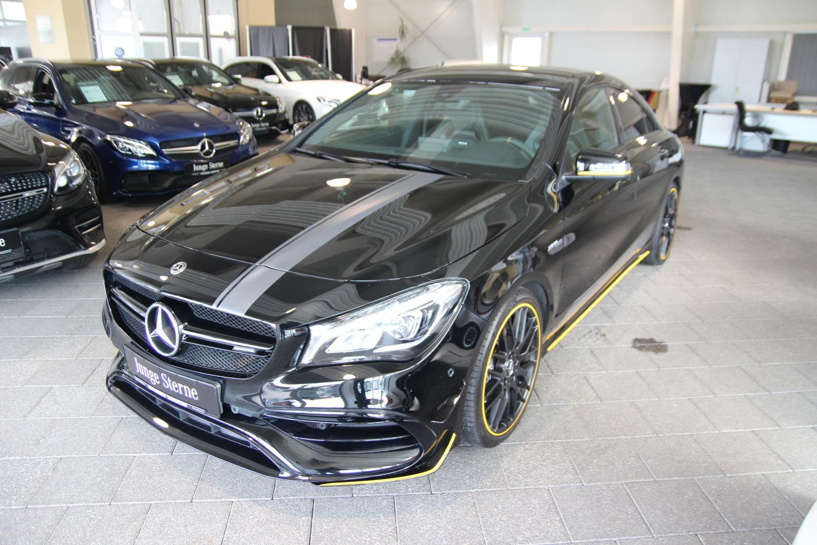 Mercedes-Benz CLA 45 4M Coupé /Yellow Style/Pano/Keyless/Soun, Jahr 2017, Benzin