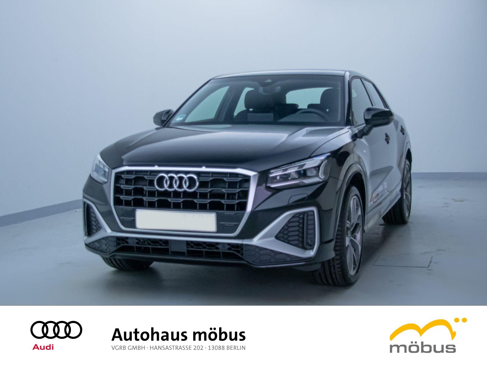 Audi Q2 S line 35 TFSI STRO*MATRIX*PANO*B&O*ASSI P., Jahr 2021, Benzin