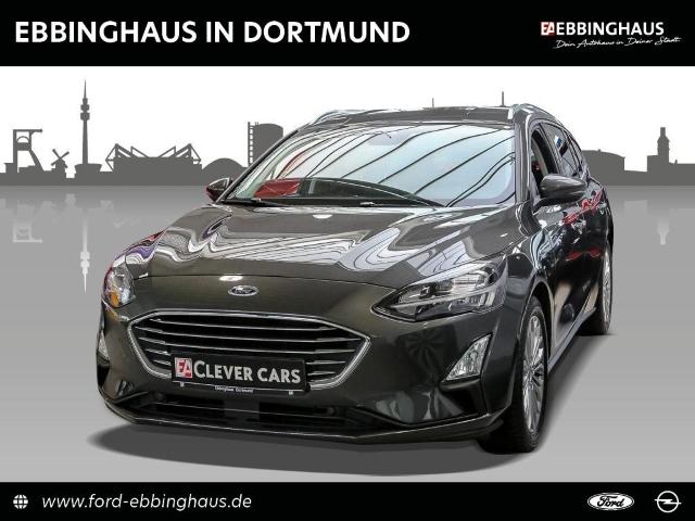 Ford Focus Turnier Titanium LED NAVI DAB KLIMAAUTO PARK-ASS WINTER-PAKET, Jahr 2019, Benzin