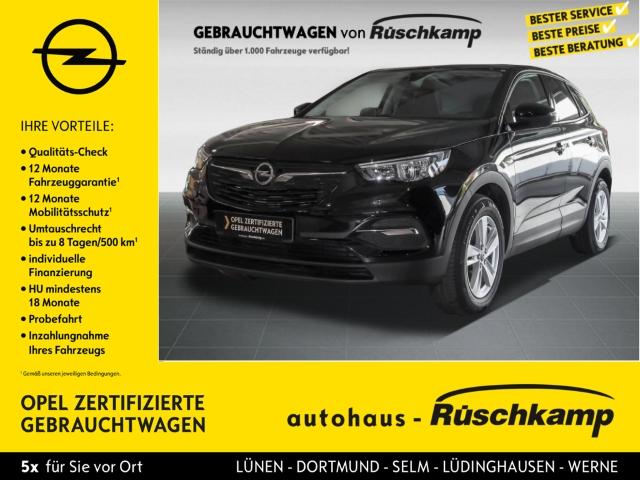Opel Grandland X Edition getönte Scheiben 1.6 BT PDC, Jahr 2017, diesel
