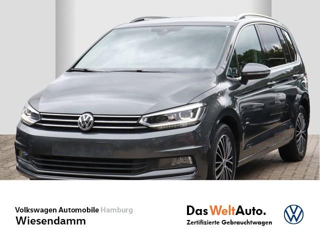 Volkswagen Touran 1.4 TSI DSG Highline LM AHK anklappbar PDC LED Navi Klimaautomatik, Jahr 2018, Benzin