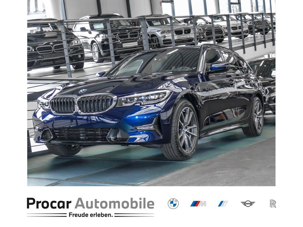 BMW 320d Touring Sport Line HiFi DAB LED WLAN Shz, Jahr 2021, Diesel