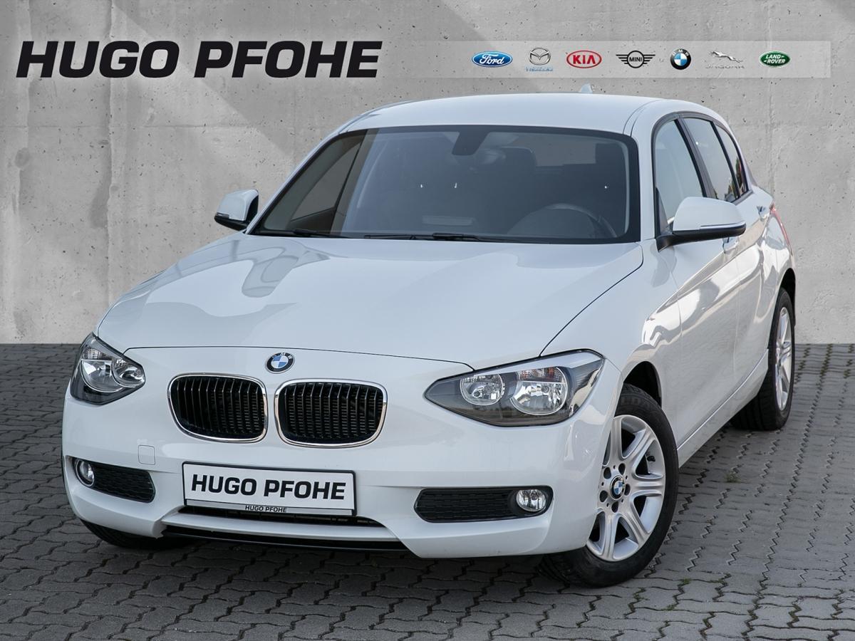BMW 114i Advantage Plus / Navi / SHZ / Tempomat, Jahr 2014, Benzin