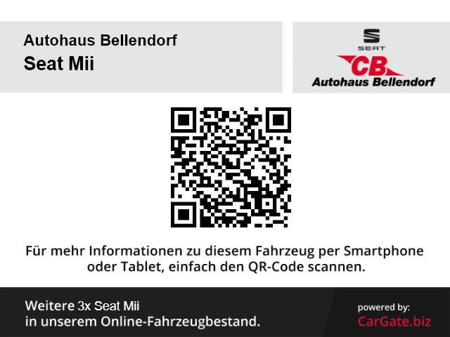 Seat Mii I-Tech 1.0 NAVI+BT+SHZ+KLIMA+EL.SP+EFH+SERVO+ZV+TAGFAHRLICHT+GARANTIE+HU/AU, Jahr 2014, Benzin