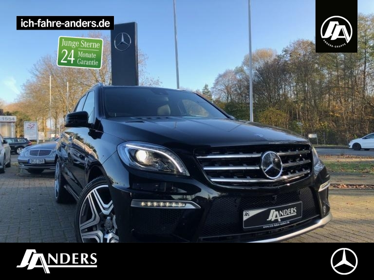Mercedes-Benz ML 63 AMG 4M Comand+SHD+Distr+360+ILS+Memo+Airm., Jahr 2015, Benzin