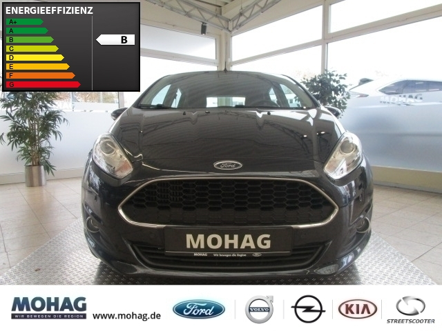 Ford Fiesta Celebration 1.0 EcoBoost *Radio-CD-Sitzh* -Euro 6-, Jahr 2016, Benzin