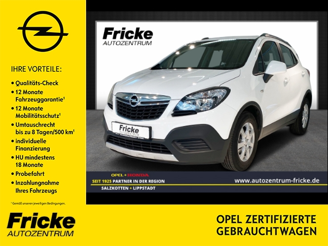 Opel Mokka Selection Klima/Radio-CD/Tempomat, Jahr 2015, Benzin
