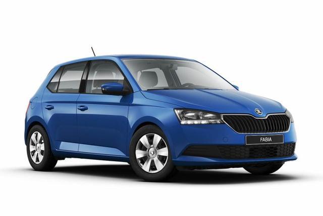 Skoda Fabia Ambition 1.0 *MJ2021* Klima Bluetooth B..., Jahr 2021, Benzin