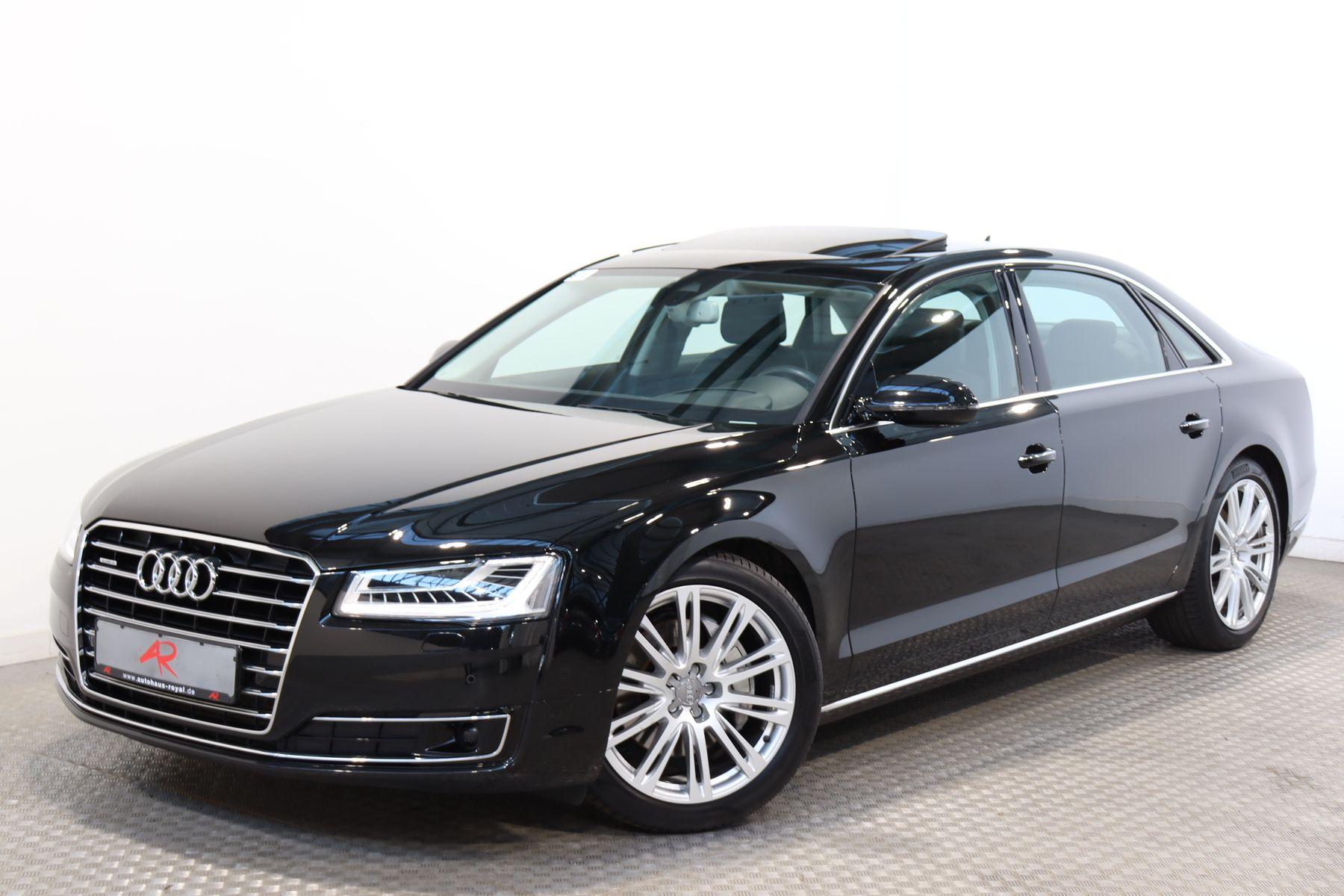 Audi A8 3.0 TDI qu LANG NACHTSICHT,HUD,KEYLESS,MATRIX, Jahr 2015, Diesel